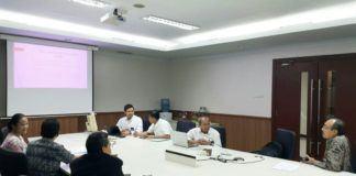 Foto: Kemenkeu dan Kemenag menggelar koordinasi untuk mengharmonisasikan data di Gedung Kementerian Keuangan.