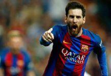 Foto: Bintang Barcelona, Lionel Messi telah sepakat memperpanjang kontraknya hingga 2021.