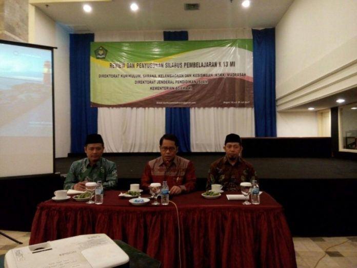Foto: Dirjen Pendidikan Islam Kamaruddin Amin.