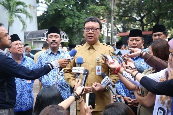 Foto: Menteri Dalam Negeri Mendagri, Tjahjo Kumolo.