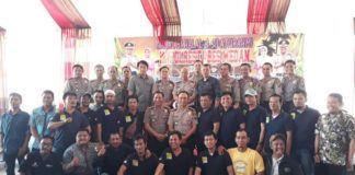 Polrestabes Medan Gelar Halalbihalal