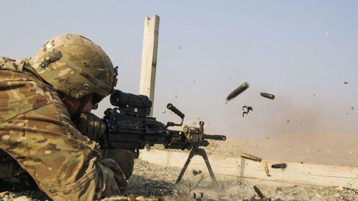 Ilustrasi tentara Amerika Serikat. Presiden Trump kembali melarang transgender untuk bergabung dengan angkatan bersenjata di negaranya. (Reuters/Lucas Jackson)