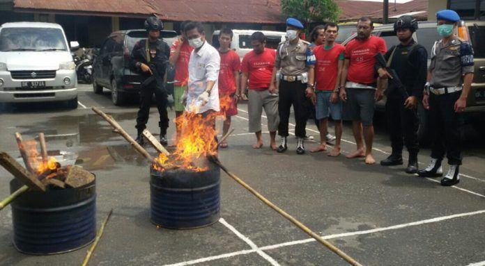 38 Kg Ganja Asal Aceh