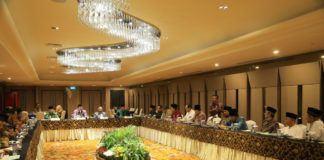 Foto: Menteri Agama pimpin Rapat Koordinasi Amirul Hajj di Jakarta, Kamis (10/8).