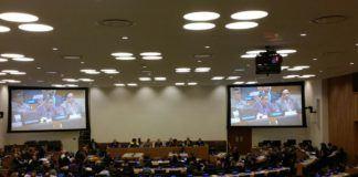 Foto: Delegasi RI hadir di pertemuan ke-30 UNGEGN dan konferensi ke- 11 UNCSGN di Markas Besar PBB, New York pada tanggal 7-18 Agustus 2017.