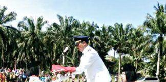 HUT RI ke-72 di Aek Ledong Asahan