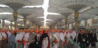 Foto: Jemaah Haji Indonesia.