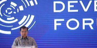 Foto: Wapres Jusuf Kalla membuka Indonesia Development (IDP) Forum 2017 di Jakarta, Rabu (9/8)