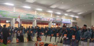 Foto: Kelompok Terbang (Kloter) 13 Embarkasi Medan.