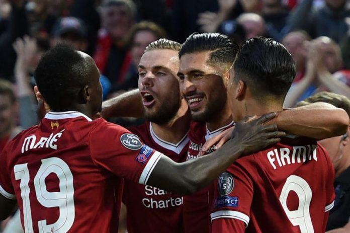 Para pemain Liverpool merayakan kemenangan atas Hoffenheim (Foto: AFP)