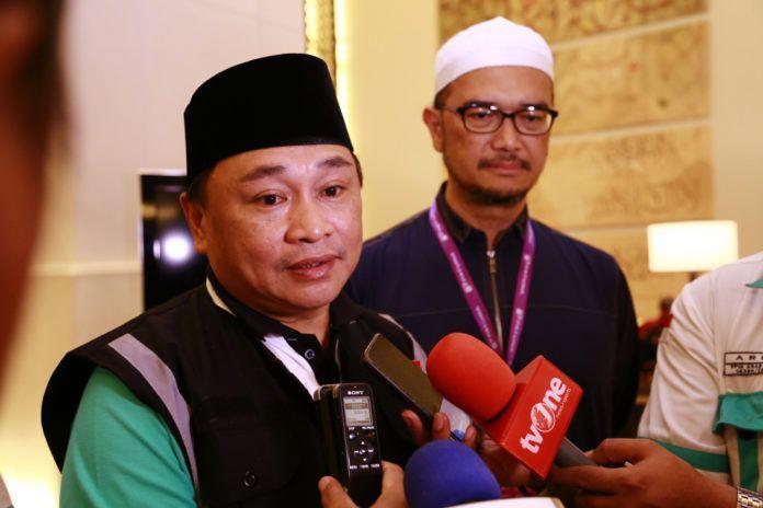 Foto: Direktur Bina Umrah dan Haji Khusus Ditjen PHU Kemenag RI, Muhajirin Yanis, Jumat (25/8).