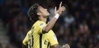 Neymar cetak gol untuk Paris Saint-Germain di laga debut melawan Guingamp