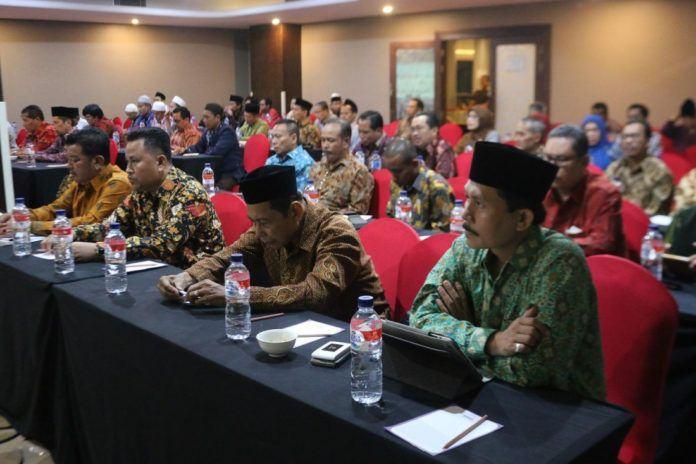 Foto: Suasana Pertemuan Majelis Masyayikh Ma'had Aly.
