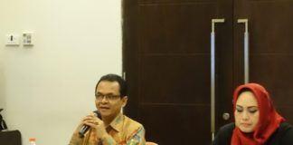 Foto: Kepala Biro Ortala Afrizal Zen sebagai Narasumber Kegiatan Penguatan Penguatan Pokja RB di Bogor, Selasa (8/8).