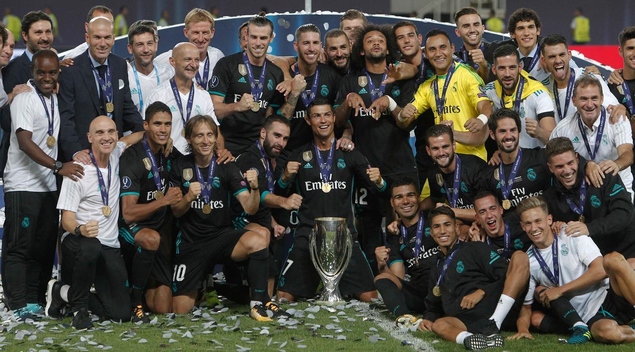 Real Madrid Juarai Piala Super Eropa Usai Kalahkan MU