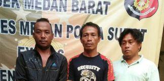 Tiga Pemeras Diciduk Polisi