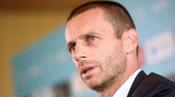 Presiden UEFA, Aleksander Ceferin, mengancam akan mencoret Paris Saint-Germain dari Liga Champions jika terbukti melanggar Financial Fair Play. (AFP/Jure Makoves)
