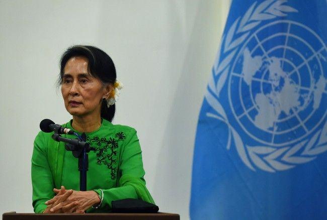 Pemimpin de facto Myanmar, Aung San Suu Kyi. (Foto: AFP)