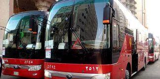 Foto: PPIH menyiapkan 2.600 bus untuk mengangkut jemaah haji gelombang kedua dari Makkah menuju Madinah.