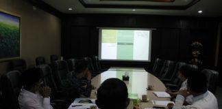 Foto: Dirjen Bimas Islam Presentasi E-PAI di hadapan Menag