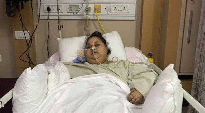 Foto: Eman Ahmed Abd El Aty mengalami obesitas. Bobot tubuhnya mencapai 500 kilogram (Saifee Hospital)