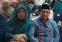 Foto: Kepala Kanwil Kementerian Agama Provinsi Sumatera Utara Tohar Bayoangin (kanan).