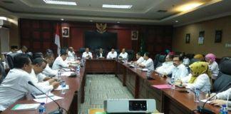 Foto: Rapat Pimpinan Ditjen Pendidikan Islam, Kemenag, Senin (11/9).