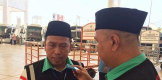 Foto: Kepala Daker Bandara Arsyad Hidayat.
