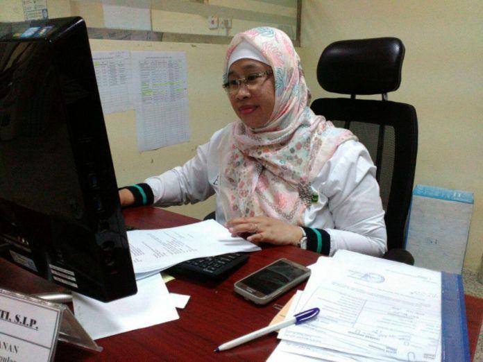 Foto: Kepala Seksi Layanan Pemulangan Daker Makkah Edayanti Dasril.