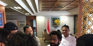 Foto: Staf khusus Presiden untuk Papua, Lenis Kogoyo.
