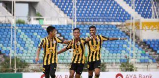 Foto:Timnas U-18 Malaysia. (AFF)