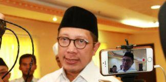 Foto; Menag Lukman Hakim Saifuddin selaku Amirul Hajj.
