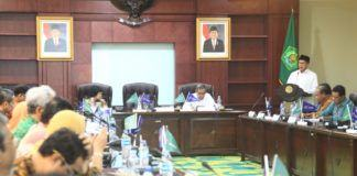 Foto: Menag Lukman buka Entry Meeting Evaluasi Reformasi Birokrasi dan Sistem Akuntabilitas Kinerja Kemenag.