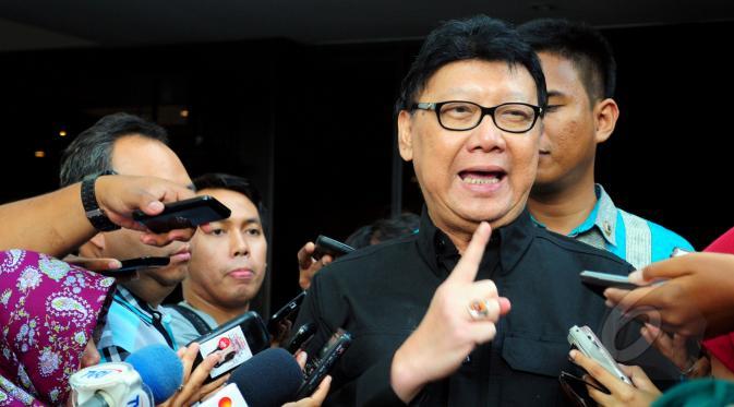 Foto: Menteri Dalam Negeri (Mendagri), Tjahjo Kumolo.
