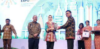 Foto: Mendagri di opening caremonial Indonesia Futre City dan REI Mega City 2017 di ICE BSD, Tangerang Selatan, Kamis (14/9).