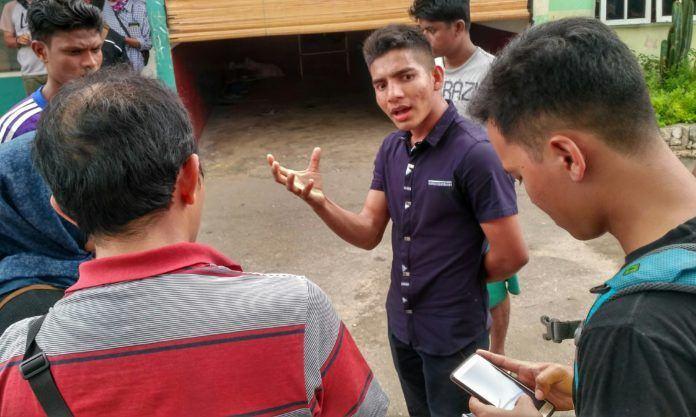 Pengungsi Rohingya di Medan