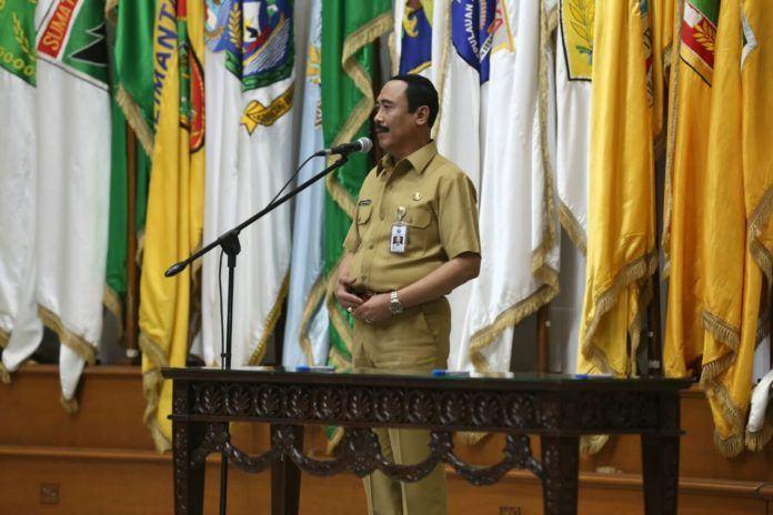 Foto: Plt Sekjen Kemendagri, Hadi Prabowo.