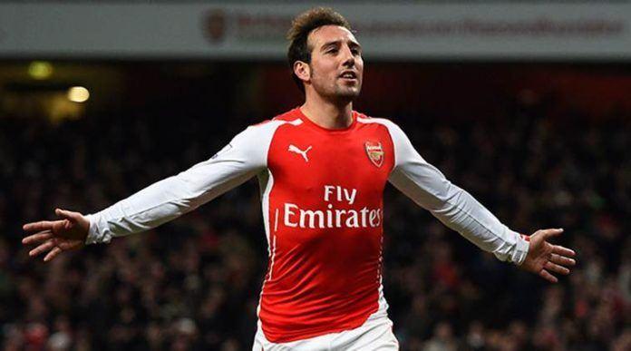 Foto: Gelandang senior Arsenal Santi Cazorla.