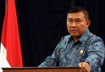 Foto: Direktur Jenderal (Dirjen) Politik dan Pemerintahan Umum (Polpum) Kemendagri, Soedarmo.