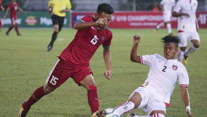 Timnas Myanmar lolos ke semifinal setelah mengalahkan Vietnam 2-1. (Dok. PSSI)