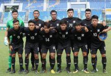 Skuat timnas Thailand di Piala AFF U-18 2017 (Foto: AFF)