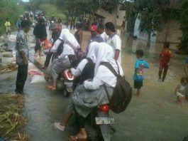 Tanggul Pecah, Dua Dusun di Nanasiam