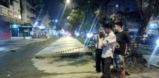 Foto: Pemko Medan melalui Dinas Pekerjaan Umum (PU) Kota Medan melanjutkan perbaikan jalan rusak yang ada di Kota Medan.