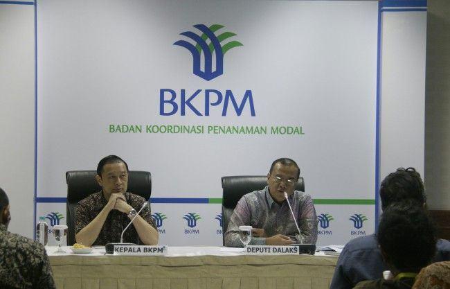 Foto: Konferensi Pers Badan Koordinasi Penanaman Modal (BKPM).