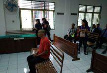 Foto: Khaireyll Benjamin Bin Ibrahim alias Benjy (38), warga negara Malaysia yang terlibat kasus kepemilikan 4,5 gram sabu-sabu dihukum 11 tahun penjara.