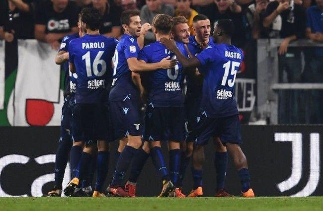 Para pemain Lazio berpesta di kandang Juventus (Foto: Whoscored)