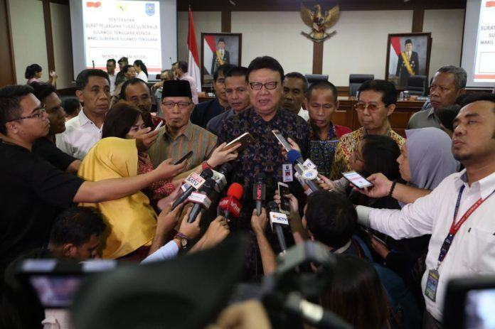 Foto: Menteri Dalam Negeri (mendagri) Tjahjo Kumolo