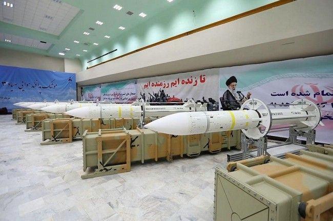 Misil Sayyad-3 milik Iran. (Foto: [Iranian Ministry of Defence)