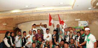 Foto: Sekjen Kemenag Nur Syam mengapresiasi kinerja Panitia Penyelenggara Ibadah Haji (PPIH) Arab Saudi.
