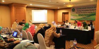 """Foto: Balitbang Kemenag gelar Seminar """"Strategi Pencegahan Radikalisme Melalui Perempuan dalam Keluarga"""" di Jakarta."""